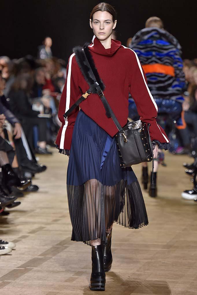 Sacai Paris Womenswear Fall Winter 2017 Paris March 2017